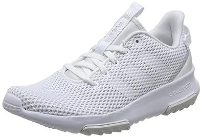 adidas Damen Cloudfoam Racer Tr Gymnastikschuhe  40 EUElfenbein (Ftwr White/Matte Silver)