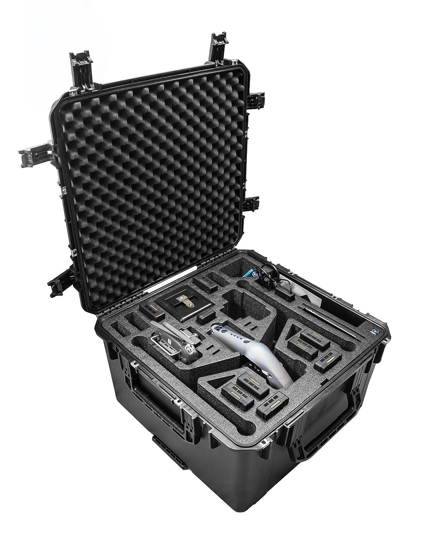 CASEPRO cp-dji-inspire-2 Wheeled Hard Case Landingモード、ブラック   B06W5JQ11R