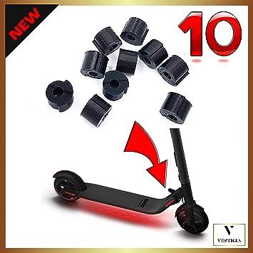 Vestigia Taco Amortiguador de Vibraciones de Goma para Sistema de Plegado de patinetes eléctricos Ninebot ES1, ES2, ES3 y ES4