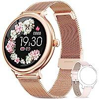 NAIXUES Smartwatch Mujer, Reloj Inteligente Impermeable IP68, Pulsera de Actividad…