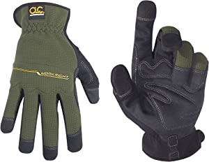 CLC Custom Leathercraft 123X Workright Open Cuff Flex Grip Work Gloves, Extra Large