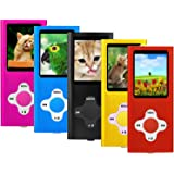 "ES Traders® 8GB MP3 Player Internal Memory 4th Generation MP3 Music, Video, Games Player With 1.8"" Video Screen (Pink)"