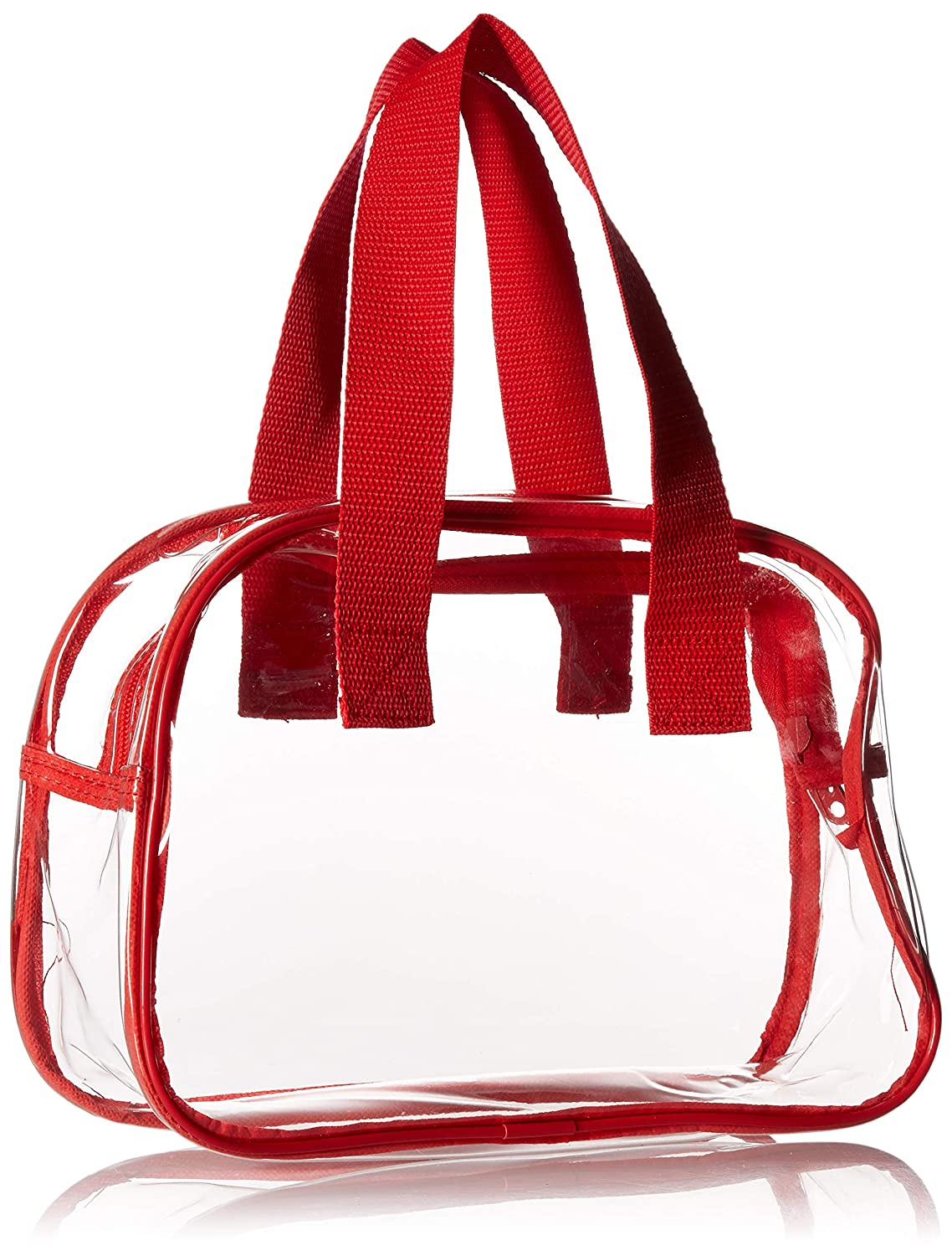 9d71ed18546 ... Nova Sport Wear Clear Purse That is Event Stadium Approved. Clear  Handbags for Cosmetics, ...