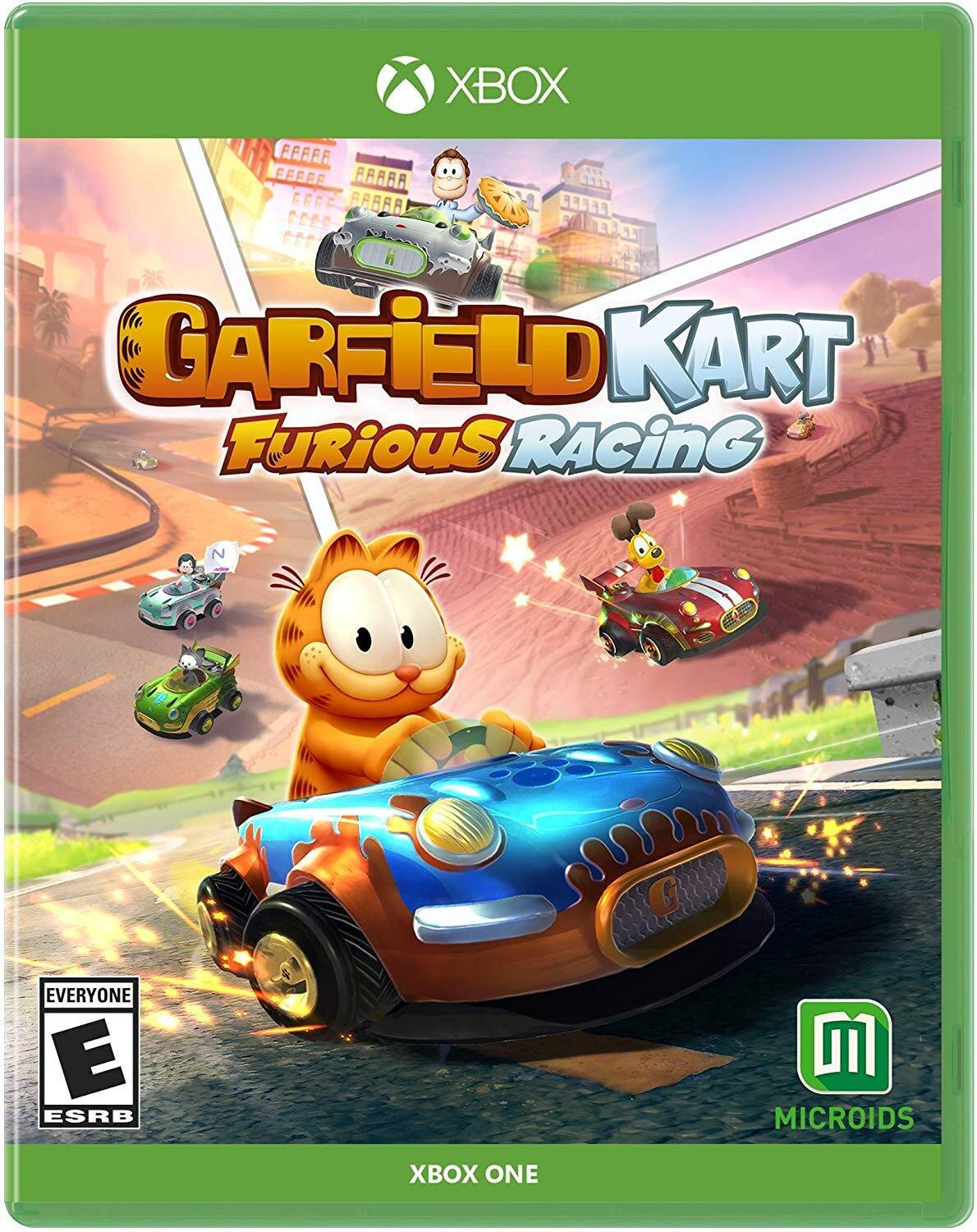 Amazon Com Garfield Kart Furious Racing Xb1 Xbox One Maximum Games Llc Video Games