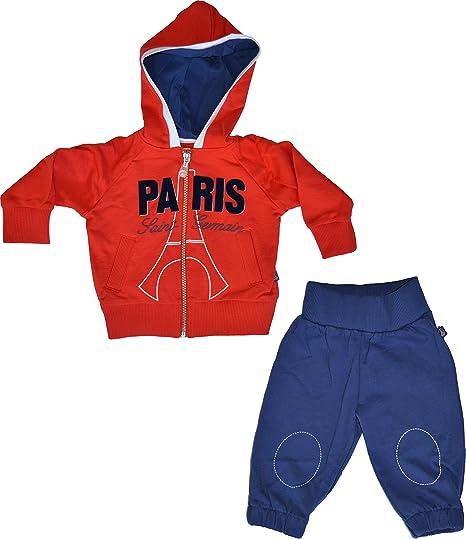 PARIS SAINT GERMAIN - Chándal Oficial para bebé Azul Azul Talla:3 ...