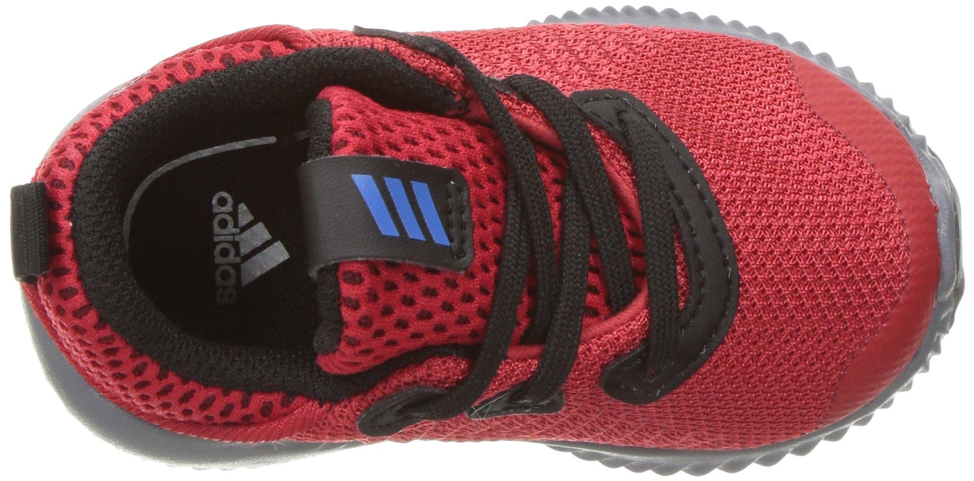 adidas Kids' Alphabounce Sneaker, Scarlet/Satellite/Black, 8 M US Toddler by adidas (Image #8)