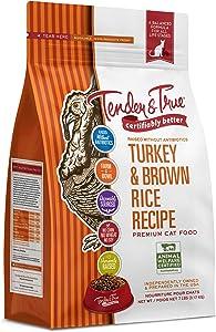 Tender & True Antibiotic-Free Turkey & Brown Rice Recipe Cat Food, 7 lb
