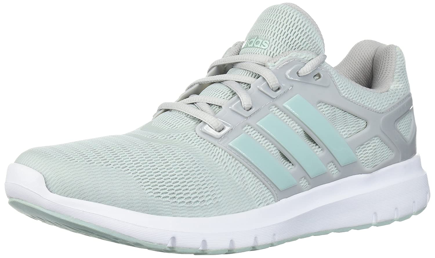 adidas Women's Energy Cloud V Running Shoe B072FHNDV9 7 B(M) US|Grey Two/Ash Green/Ash Green