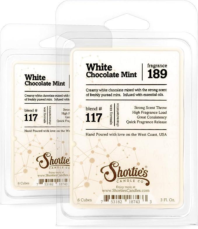 white chocolate candle melts sweet Chocolate Mystery Pudding Wax Melt Shots Chocolate Milk