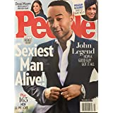 PEOPLE WEEKLY MAGAZINE - NOVEMBER 25, 2019 / SEXIEST MAN ALIVE - JOHN LEGEND (2 OF 2 COVER)