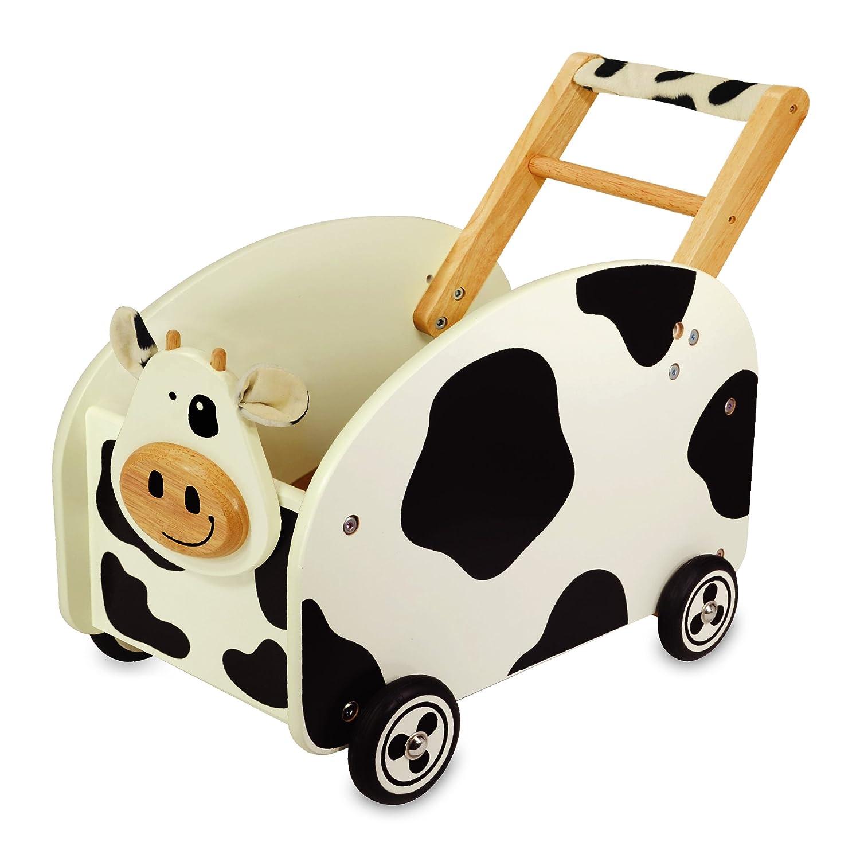Lauflernwagen Kuh - I m Toy Spielzeugkiste Kuh