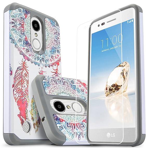 buy popular 0c0f5 5c38e LG K30 Cases, LG Xpression Plus, LG Premier Pro LTE, LG Phoenix Plus, LG  Harmony 2, With [Premium Screen Protector Included] Starshop Dual Layers  Drop ...