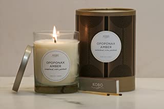 product image for Bamboo Mint Kobo Soy Candle From The Woodblock Collection