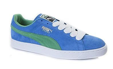 Puma Suede Classic Eco Palace Blue Green 352634 26 Trainers Unisex ... c1d5750de0a5