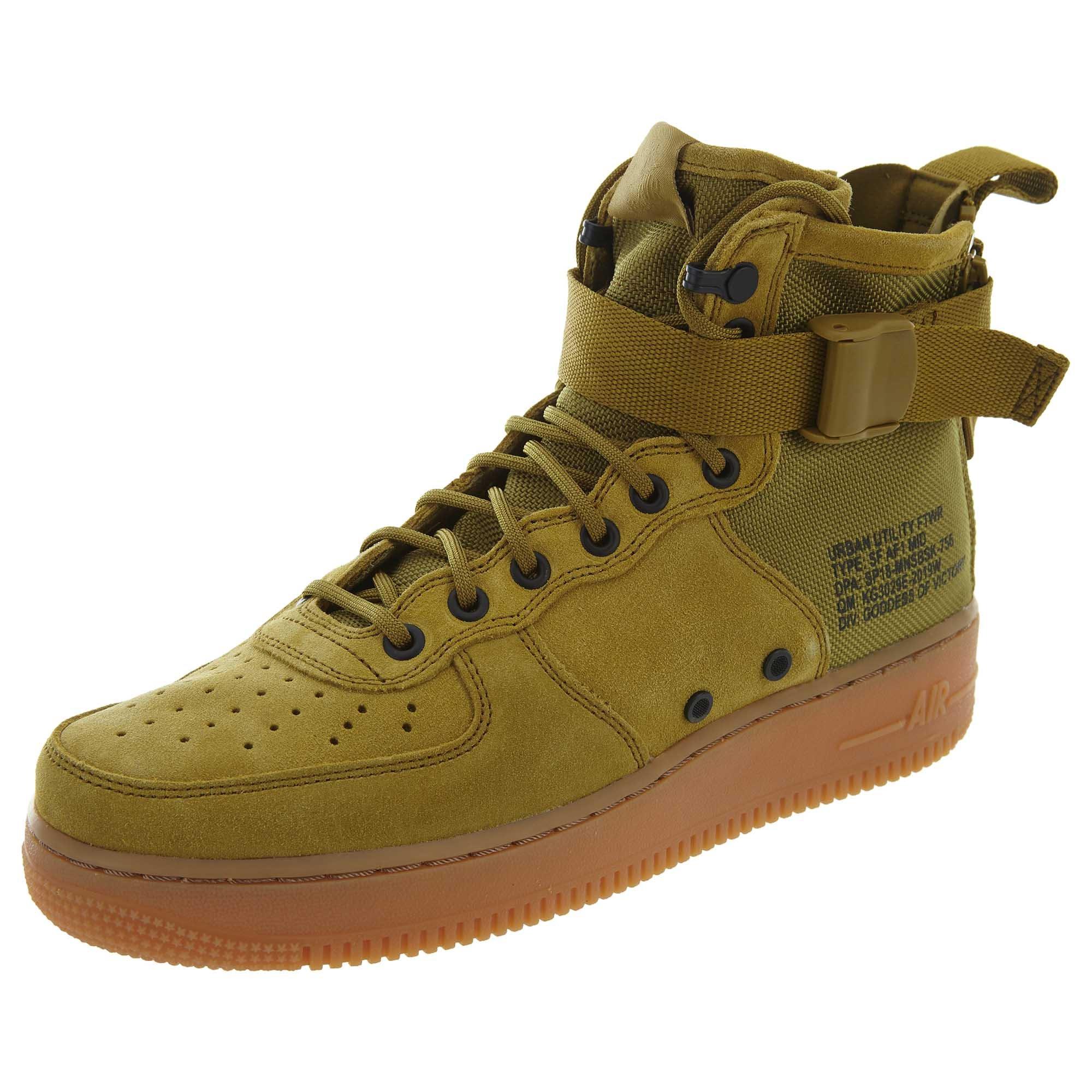 Galleon - Nike Men s SF AF1 Mid Desert Moss Dessert Moss Basketball Shoe 10  Men US 83b3937e1