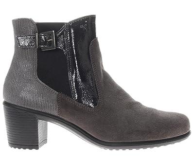 ENVAL SOFT 89322 00 bottes chaussures à talons taille 37 Gris foncé ee7783c5825