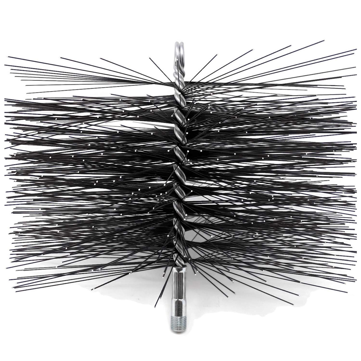 10-Inch Square Midwest Hearth Square Wire Chimney Cleaning Brush