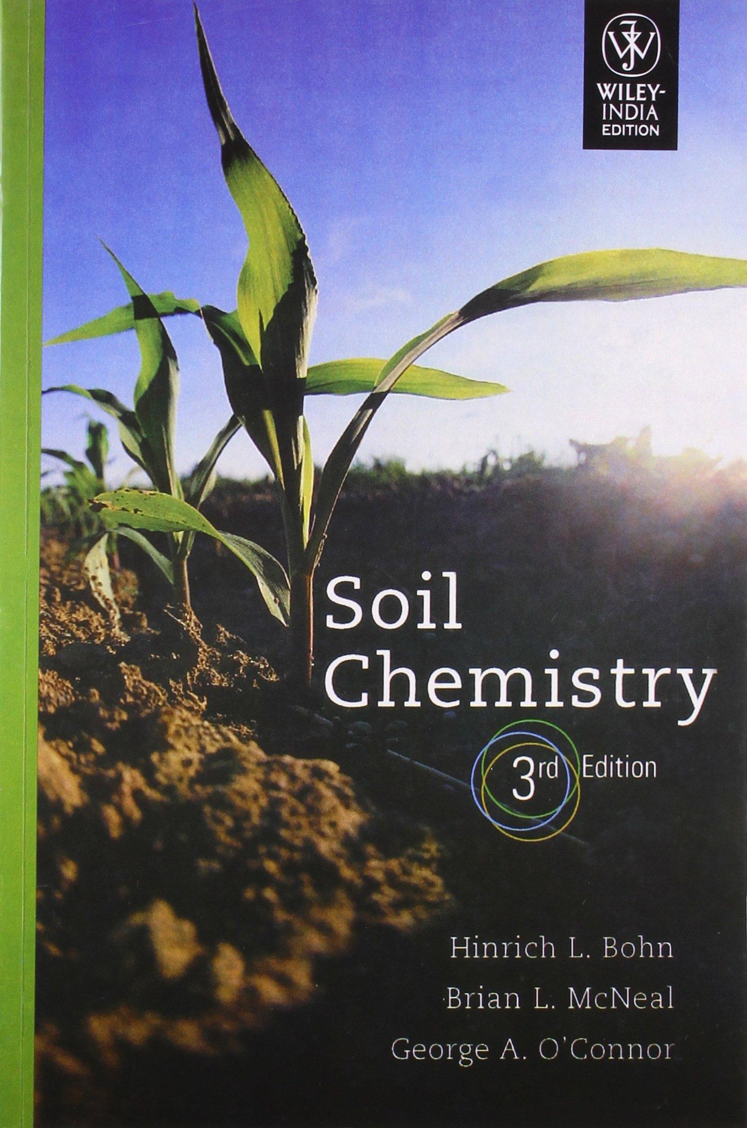 Soil Chemistry, 3Rd Edition pdf epub