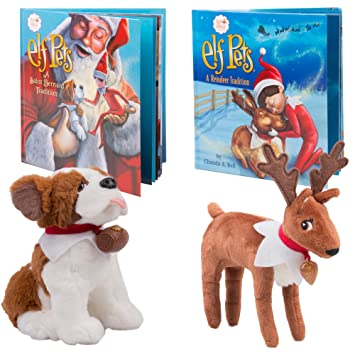 Elf on The Shelf Pet Pack - Reno y San Bernardo Elf Pets - Directo ...