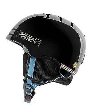 Shred Slam Gorra de Base shrasta Casco de esquí, Snowboard, Otoño-Invierno,