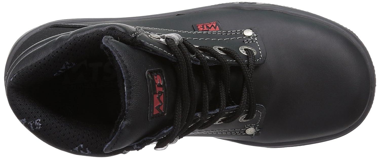 MTS M-Gecko Nirvana S3 Flex 16105 Unisex-Erwachsene Sicherheitsschuhe Schwarz (Schwarz) (Schwarz) Schwarz 589715