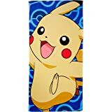 """Pokemon Day Off Beach Towel by The Northwest Company, 28 by 58"""""""