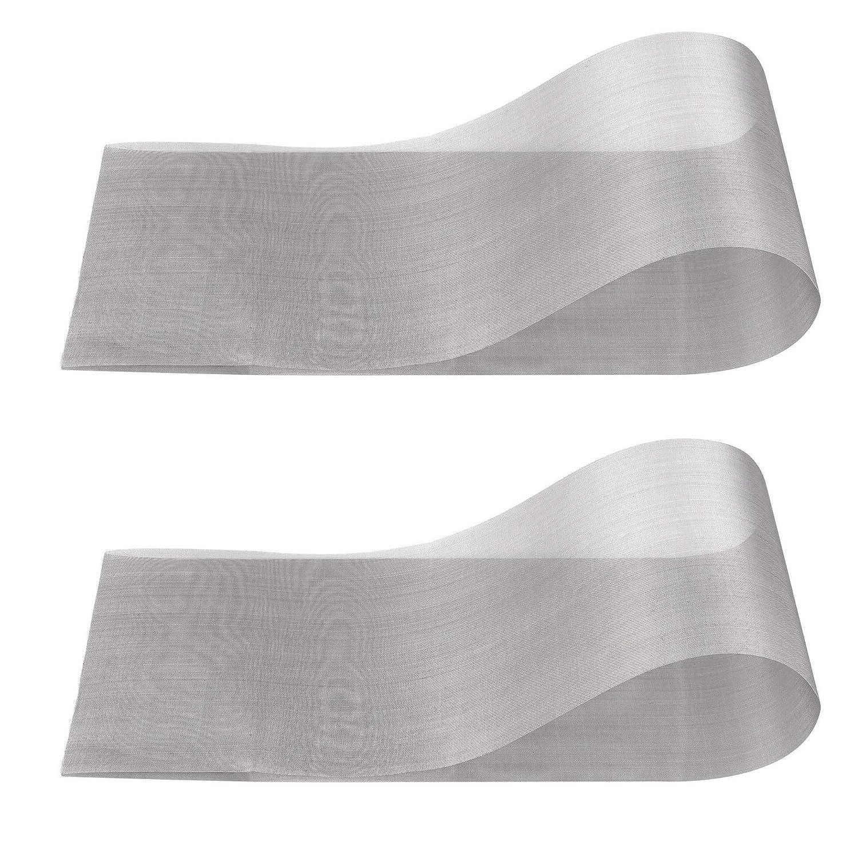 2 Packs 40 Mesh Screen Stainless Steel Metal Wire Mesh -12