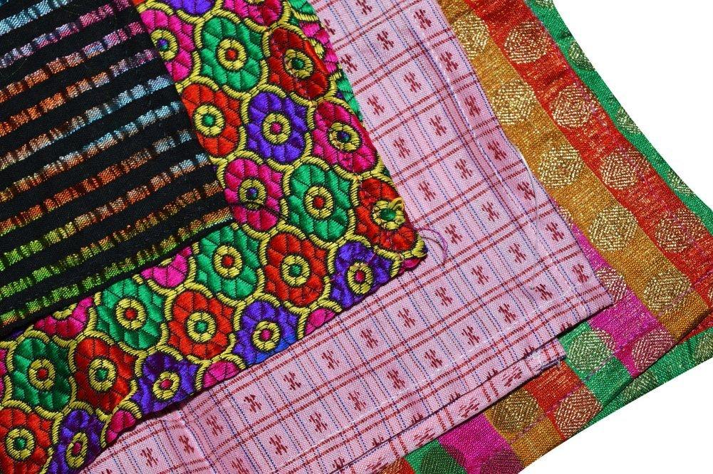 Ana'z Pocket Square Set of 4 Multicolor Handkerchief Men's Fashion Accessory by Ana'z (Image #4)