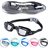 Swimming Goggles by JOKO . Swim goggles with Anti-Fog Layer & UV Protection. Watertight PC Lenses with 180° Clear Vision. Quick Adjust Strap System. Suitable For Adults, Men, Women & Teenagers