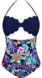 Angerella Cup Cut To It Shell Irregular Hem One Piece Padded Swimsuit