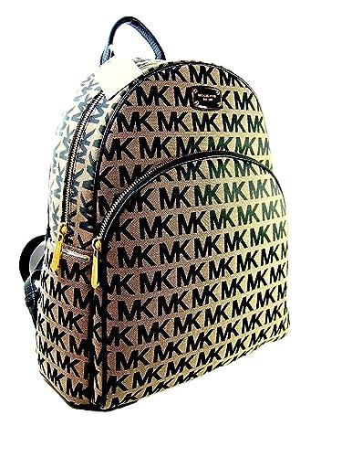 Amazon Com Michael Kors New Mk Logo Signature Backpack Book Bag