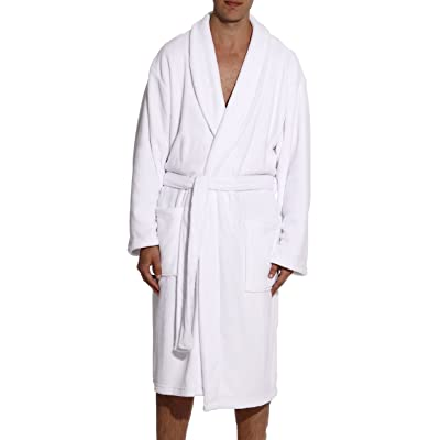 #followme Ultra Soft Plush Robe for Men with Shawl Collar at Amazon Men's Clothing store