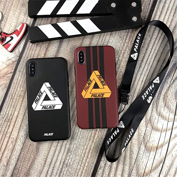 Amazon.com: Tide Palace Strap Off Soft Silicon Phone Case for iPhone Lanyard Capa Red for iPhone XR only case: Cell Phones & Accessories