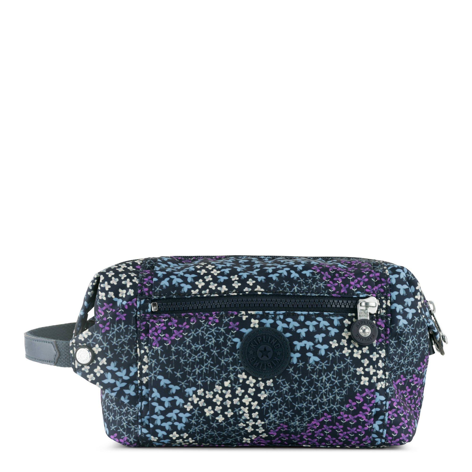 Kipling Aiden Toiletry Bag, Essential Travel Accessory, Dotted Bouquet