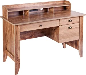 OneSpace Eleanor Executive Desk Classic Oak