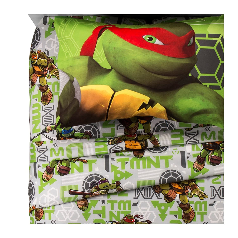 Teenage Mutant Ninja Turtles® Green Sheet Set (Twin) franco