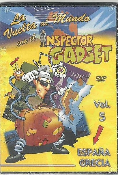 La Vuelta al Mundo con el Inspector Gadget Vol 5: Amazon.es: Cine ...