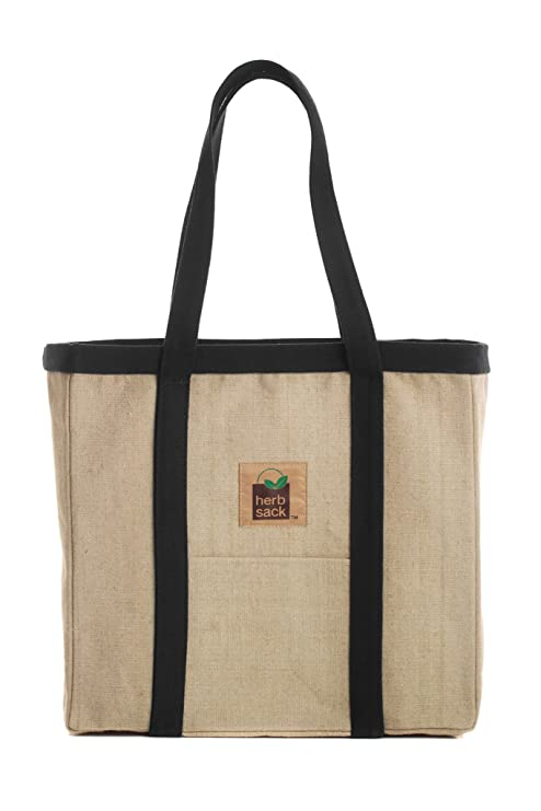 The Herbsack Linda Organic Hemp Canvas Tote travel product recommended by Sam Maizlech on Lifney.