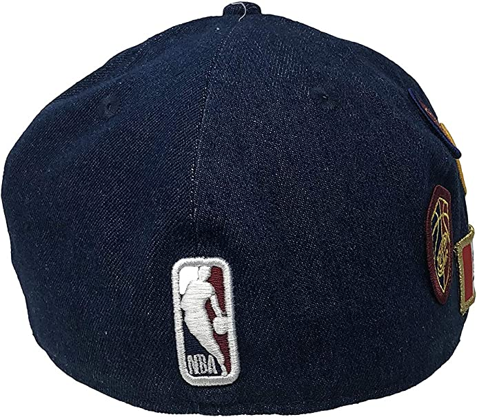 New Era Cleveland Cavaliers Fitted Hat 59Fifty NBA Basketball Flat Bill Caps