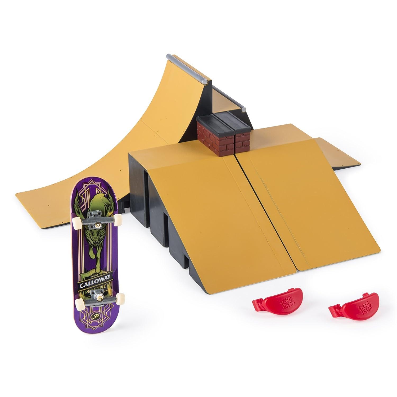 Amazon finger boards finger bikes toys games tech deck starter kit ramp set and board baanklon Gallery