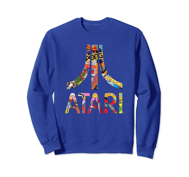 Atari Montage Logo Arms Sweatshirt-anz