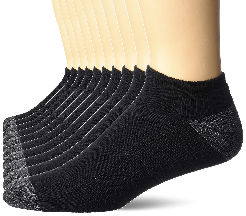 Essentials 10-Pack Cotton Half Cushioned No-Show Socks Uomo Marchio