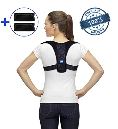 Corrector de Postura para Hombre y Mujer, Chaleco Postural Espalda Recta | Faja Lumbar Ortopédica