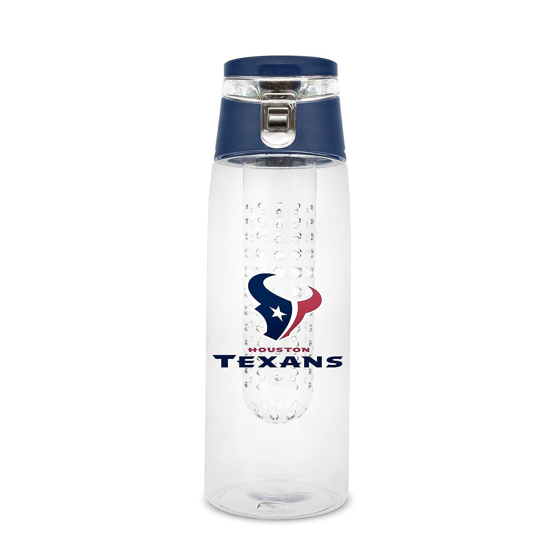 NFL Houston Texans 20oz Plastic Infuser Sport Bottle