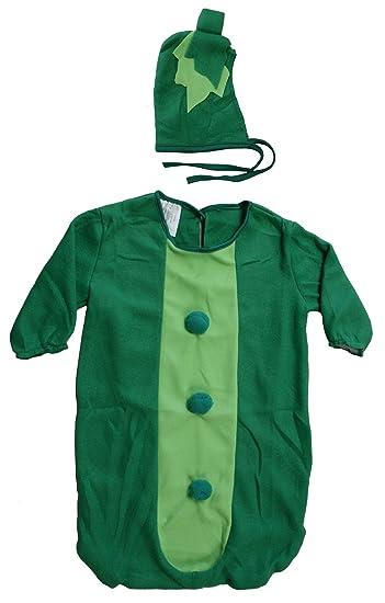 0333dac03 Amazon.com  Fun World Green Sweet Pea Pod Bunting Baby Costume  9696 ...
