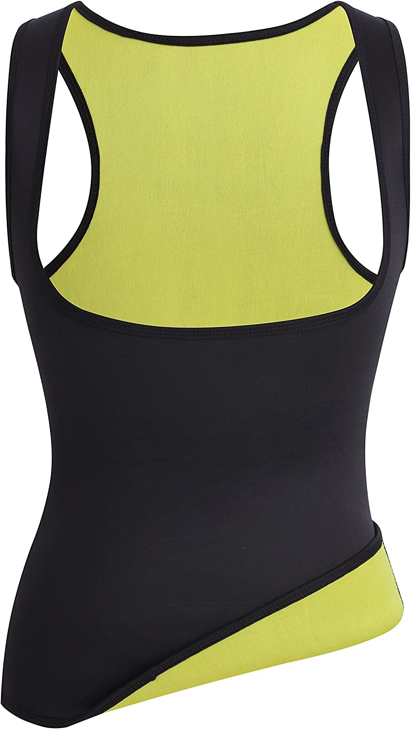 Thermo Sports Waist Shaper Promotes Sweating Plus Size Comfort Sweat Vest