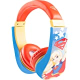 Super Hero Girls 30393-SG Large Kids Safe Headphones w/ Volume Limiter, by Sakar