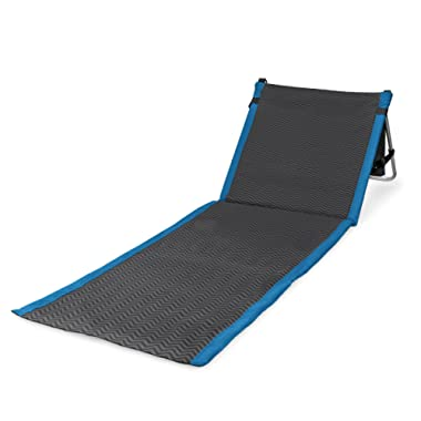 ONIVA - a Picnic Time Brand Beachcomber Portable Beach Mat, Waves Collection