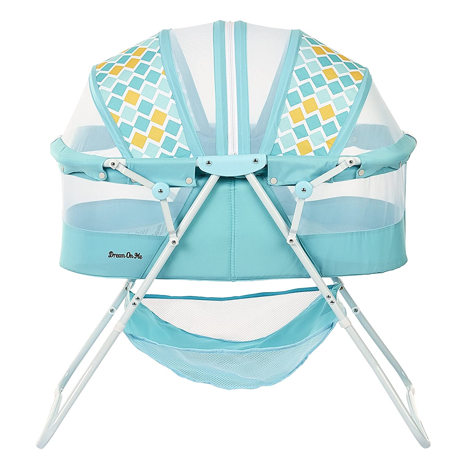 Dream On Me Karley Bassinet, Aqua Blue 441-AQ