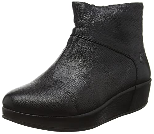 Fly London Brie662fly, Botines para Mujer, Negro (Black 000), 37 EU: Amazon.es: Zapatos y complementos